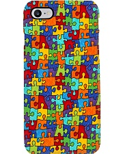 Autism Awareness Colorful Puzzle Phone Case i-phone-7-case