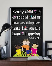 OT Pediatric Every Child Is A Different Of Flower 11x17 Poster lifestyle-poster-2