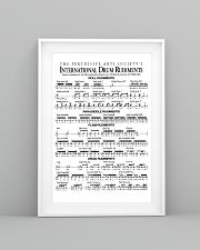 Drummer - Drum Rudiments 11x17 Poster lifestyle-poster-5
