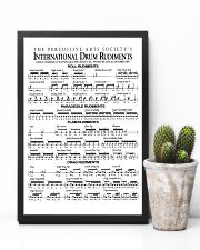Drummer - Drum Rudiments 11x17 Poster lifestyle-poster-8