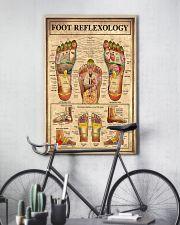 Massage Therapist Foot Reflexology  11x17 Poster lifestyle-poster-7