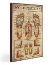 Massage Therapist Foot Reflexology  20x30 Gallery Wrapped Canvas Prints thumbnail