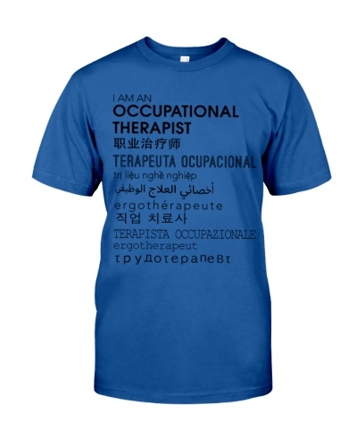 Occupational Therapist In Different Languages