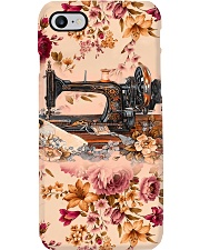 Sewing Machine And Vintage Flower Phone Case i-phone-7-case