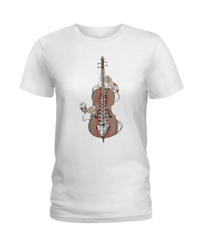 Cellist Gift Cello Spine