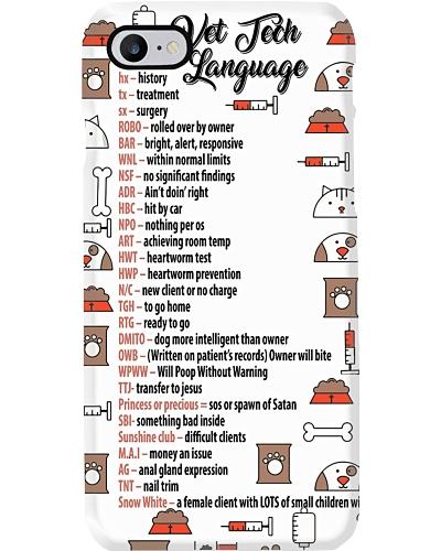 Vet Tech Language