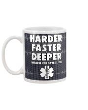 Paramedic Harder Faster Deeper  Mug back