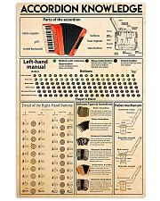 Accordion Knowledge 11x17 Poster front