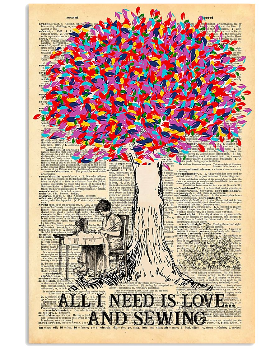 All I Need Is Love And Sewing 11x17 Poster