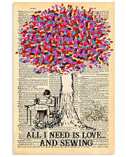 All I Need Is Love And Sewing 11x17 Poster front