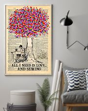 All I Need Is Love And Sewing 11x17 Poster lifestyle-poster-1