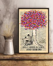 All I Need Is Love And Sewing 11x17 Poster lifestyle-poster-3