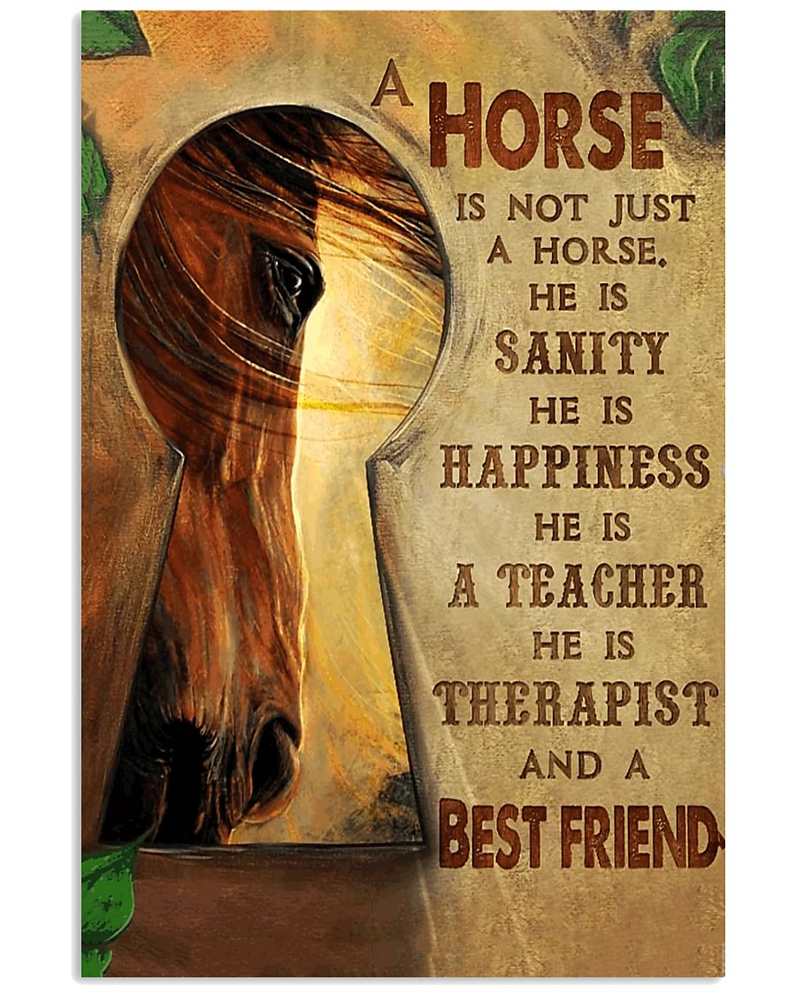 Horse Girl - A horse is a best friend 11x17 Poster