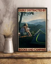 Camping And Books  11x17 Poster lifestyle-poster-3