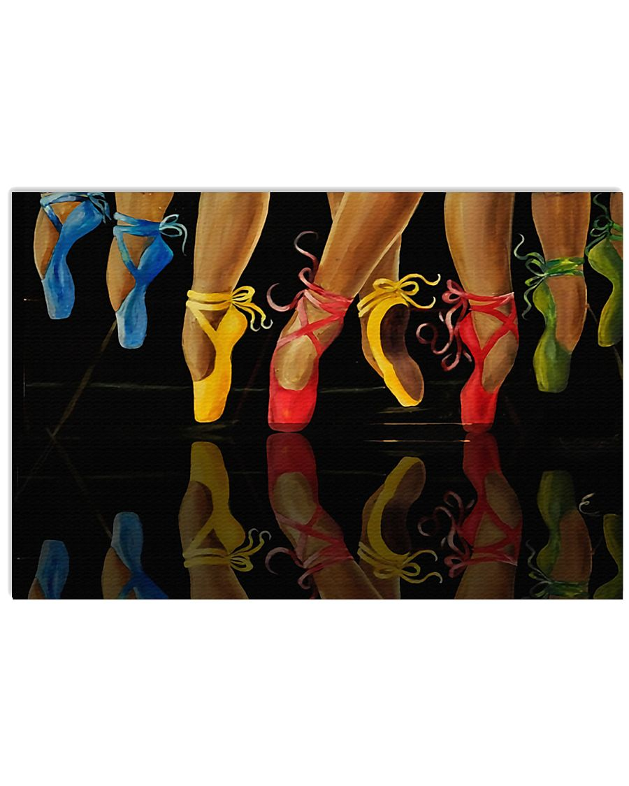 Ballet Dancers With Skilled Legs 17x11 Poster