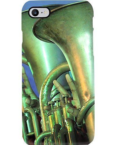 Tubist Two Blue Tuba