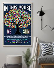 Autism awareness in this house 11x17 Poster lifestyle-poster-1