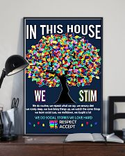 Autism awareness in this house 11x17 Poster lifestyle-poster-2