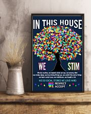 Autism awareness in this house 11x17 Poster lifestyle-poster-3