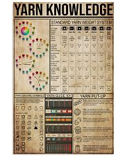 Yarn Knowledge 11x17 Poster front