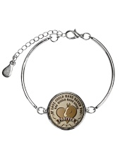 Horse Girl - If love could have saved you Metallic Circle Bracelet thumbnail