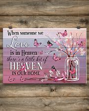 Breast Cancer Heaven In Our Home 24x16 Poster poster-landscape-24x16-lifestyle-15