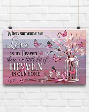 Breast Cancer Heaven In Our Home 24x16 Poster poster-landscape-24x16-lifestyle-18