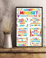 Growth Mindset Colorful Teacher 11x17 Poster lifestyle-poster-3
