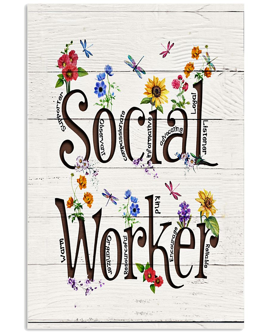 Social Worker  11x17 Poster