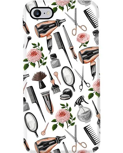 Hairdresser Vintage Flower Tools