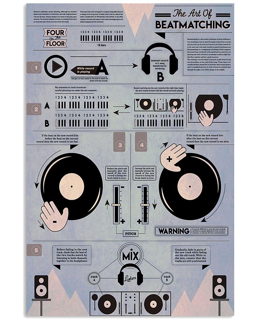 DJ The Art Of Beatmatching 11x17 Poster