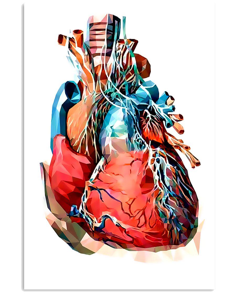 Art Heart Cardiology 11x17 Poster