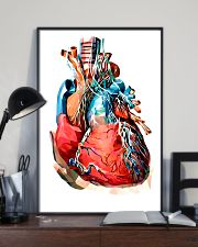 Art Heart Cardiology 11x17 Poster lifestyle-poster-2