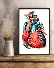 Art Heart Cardiology 11x17 Poster lifestyle-poster-3