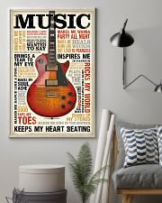 Vintage Terms Music Guitar 11x17 Poster lifestyle-poster-1