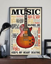 Vintage Terms Music Guitar 11x17 Poster lifestyle-poster-2
