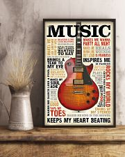 Vintage Terms Music Guitar 11x17 Poster lifestyle-poster-3
