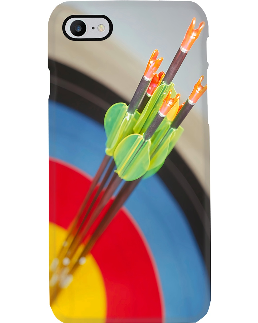 Archery Arrows And Bullseye Phone Case