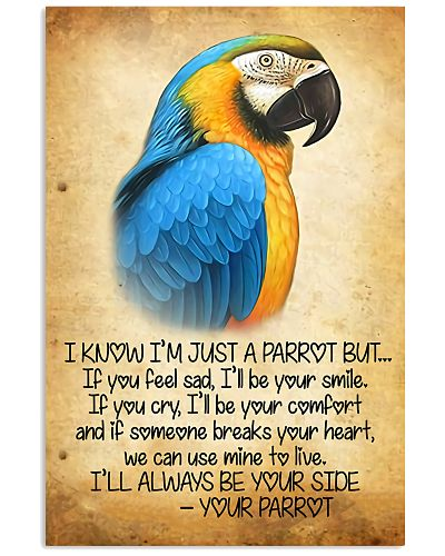 Parrot Your parrot poster
