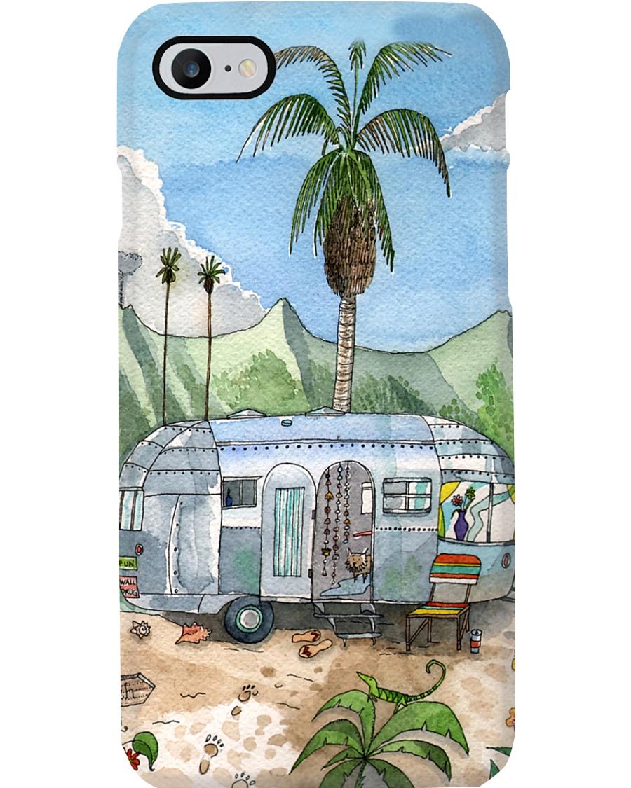Camping In The Beach Phone Case