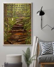 Librarian Books Give A Soul To The Universe 11x17 Poster lifestyle-poster-1