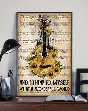 Wonderful World Guitar 11x17 Poster lifestyle-poster-2