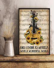 Wonderful World Guitar 11x17 Poster lifestyle-poster-3