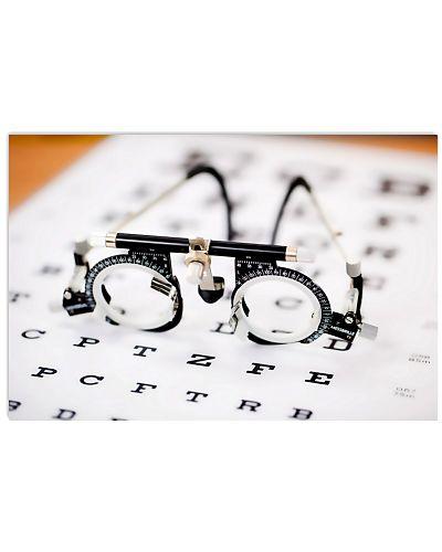 Optometrist Vintage Eye Test Glasses