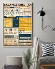 Accountant Balance Sheet 101 11x17 Poster lifestyle-poster-1