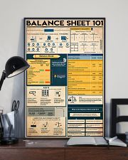 Accountant Balance Sheet 101 11x17 Poster lifestyle-poster-2