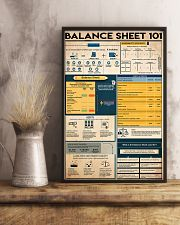 Accountant Balance Sheet 101 11x17 Poster lifestyle-poster-3