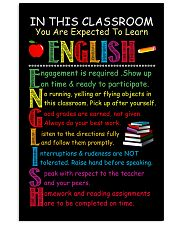 Teacher in this classroom 11x17 Poster front