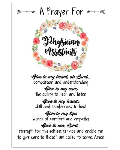 A prayer for Physician Assistants