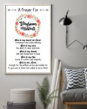 A prayer for Physician Assistants 11x17 Poster lifestyle-poster-1